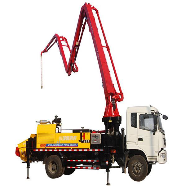 混凝土泵车33米功能特点