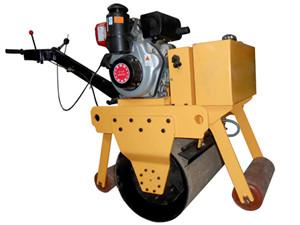 手扶单轮柴油压路机 600C型单轮柴油压路机