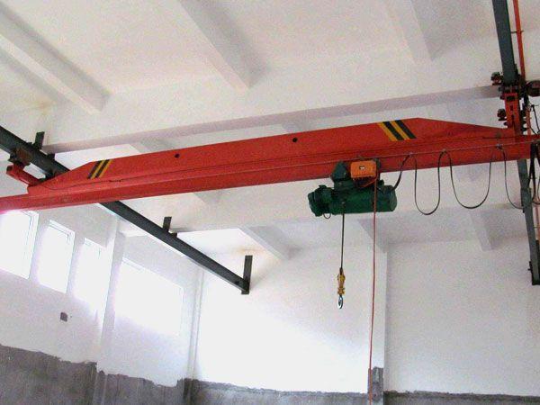 LX型电动单梁悬挂起重机参数性能