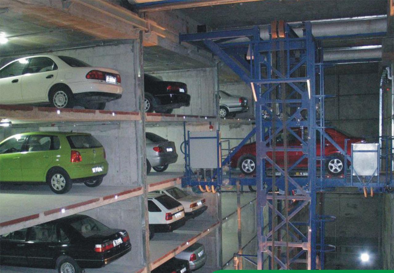 巷道堆垛室外立体停车库