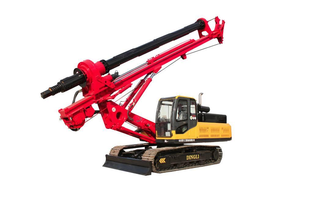 XWDF系列履带方杆旋挖钻机