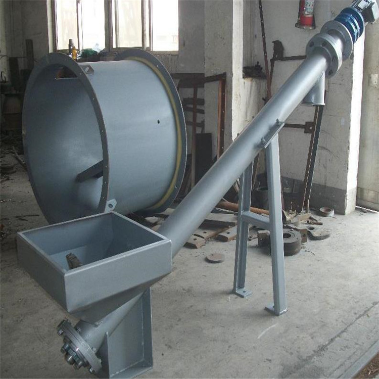 单管螺旋喂料机,单管螺旋喂料机使用特点