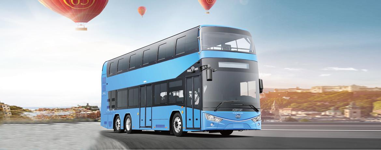 纯电动双层公交客车厂家 纯电动双层公交客车价格