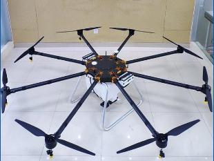 安全性能好多旋翼飞行农用无人直升机