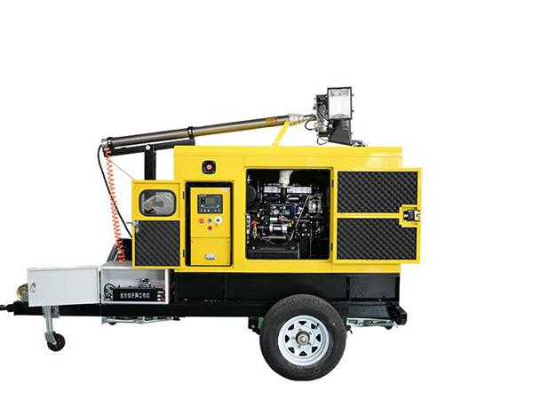 静音型发电机组移动照明车