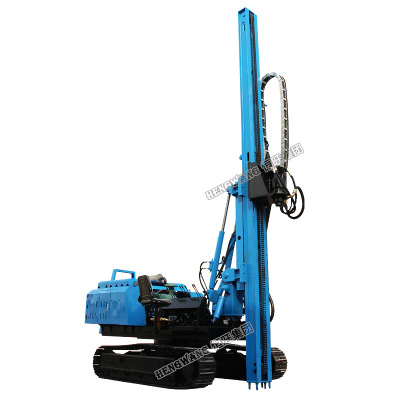 光伏电打桩机使用说明 光伏电打桩机产品功能