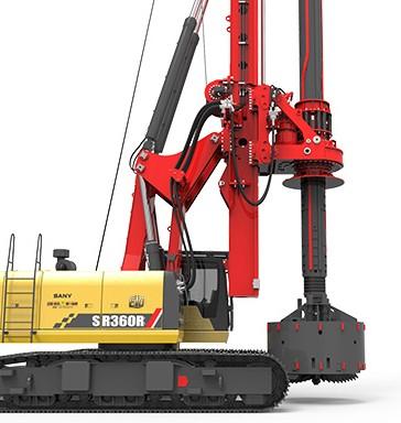 SR360R-E10系列旋挖钻机