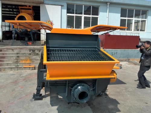 混凝土输送泵安全使用技巧