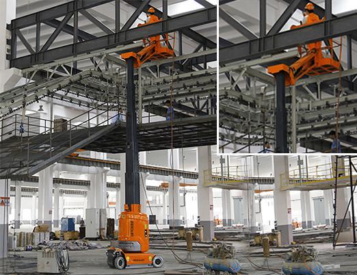 垂直桅杆式高空作业平台的主要优势