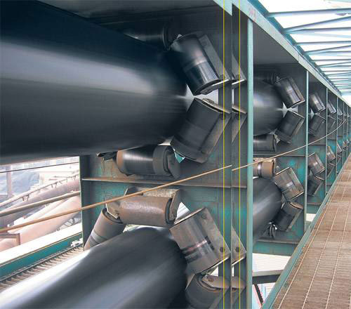 管状带式输送机规格,管状带式输送机材质种类