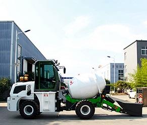 水泥砂浆自动上料搅拌车 自动搅拌车