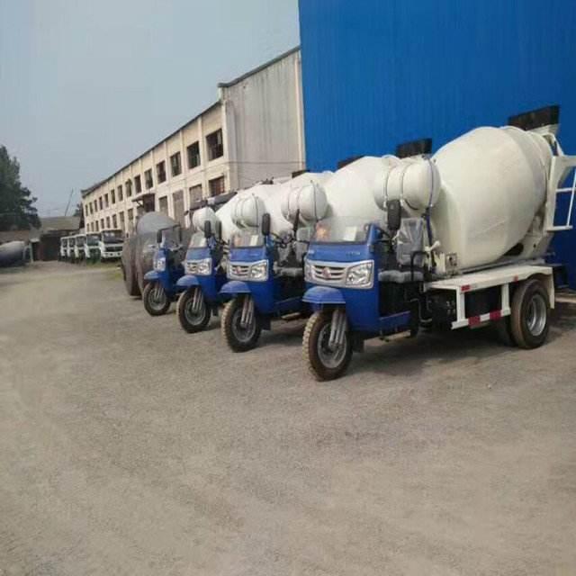 三轮混凝土运输车运输性能