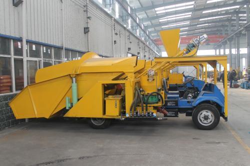 混凝土自动上料喷浆车技术参数