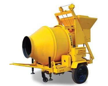 矿用混凝土搅拌机工作原理