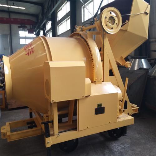 MJZC-300型矿用混凝土搅拌机作用机理