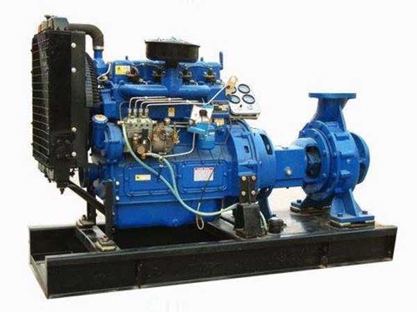 柴油机离心泵机组