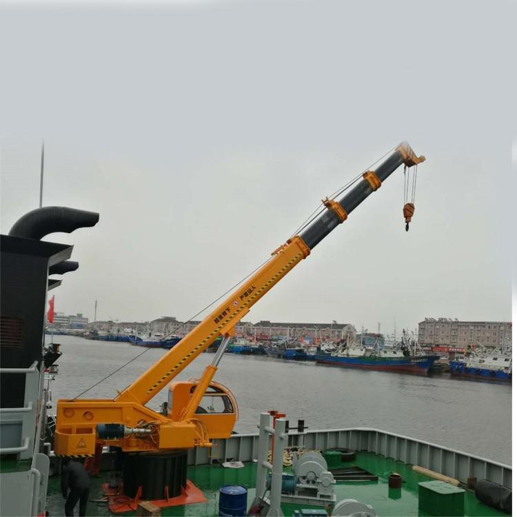 固定式船吊起重机,固定式船吊起重机特点