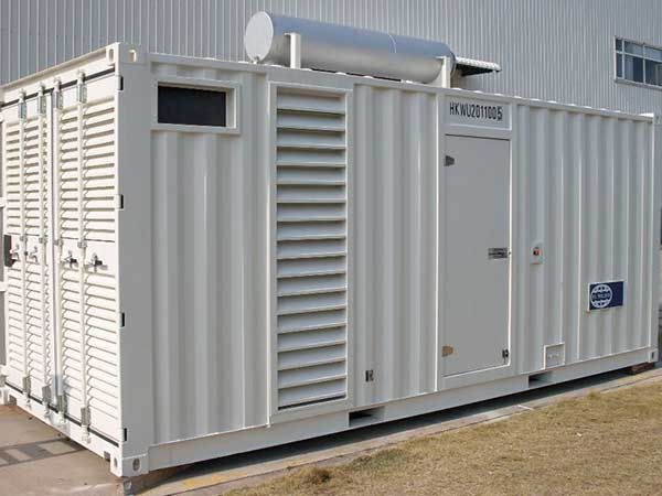 500KW集装箱式发电机