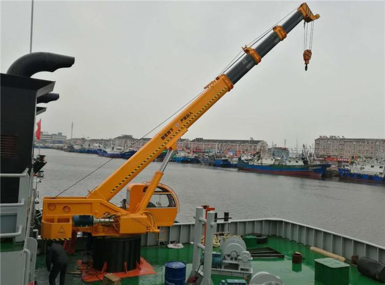 船用装卸吊机 船尾吊,港口吊