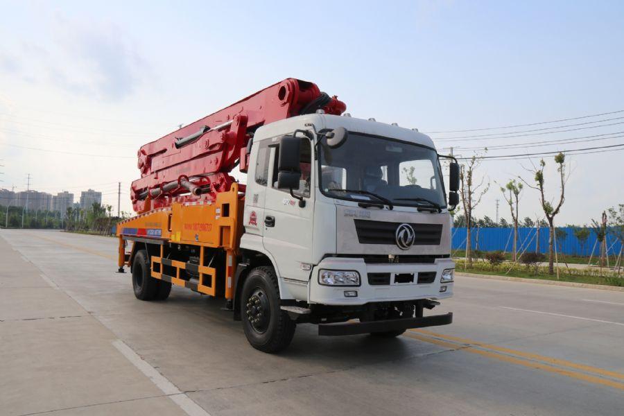 31米混凝土泵车技术参数