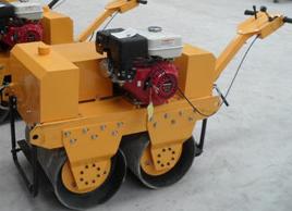 手扶式双轮压路机600Q双轮汽油压路机