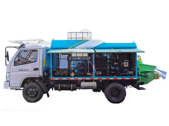 GHP16C-II 车载混凝土湿喷车技术参数