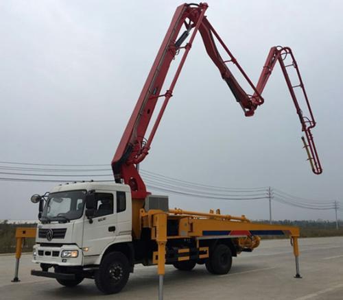 农村小型混凝土泵车技术参数
