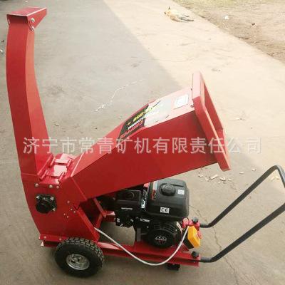 小型可移动柴油园林树叶粉碎机使用说明
