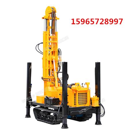 小型履带取土钻机土壤取样钻井机直推式建井取样钻机环境检测钻机