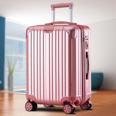 行李箱定制20寸拉杆箱万向轮旅行箱防水登机箱拉杆旅行包一件代发