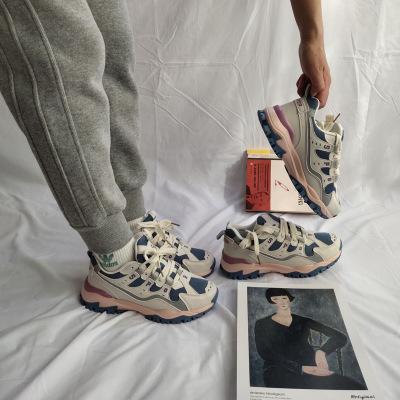 复古休闲鞋运动鞋老爹鞋轻便跑步鞋