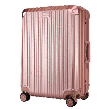 礼品定制铝框拉杆箱万向轮特价旅行箱登机箱abs密码箱包一件代发