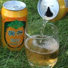 菠萝啤酒整箱批发果味汽水330ml*24厂家碳酸饮料代理加工饮品现货