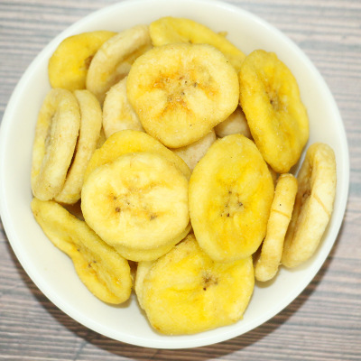 VF香蕉脆蔬菜干综合什锦果蔬脆片脱水低温油炸批发散装500g