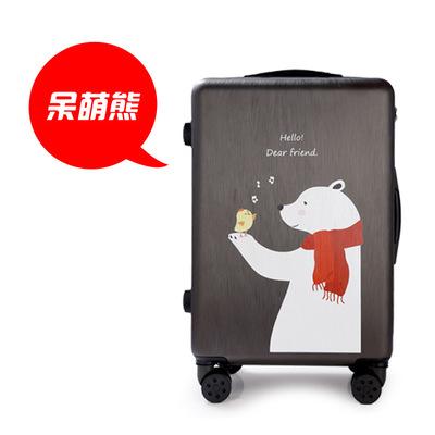 卡通儿童拉杆箱行李箱定制耐磨旅行箱防水20寸登机箱24寸一件代发