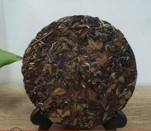 厂家直销 福鼎白茶2014年陈年枣香贡眉老白茶散装350g 白茶饼批发