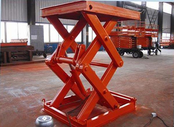 MJ-A电动升降台 固定升降机 1吨固定式液压升降机 1000KG电动平台