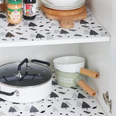 印花抽屉垫寝室防潮垫可裁剪衣柜厨房防水垫鞋柜防尘铺厂家直销