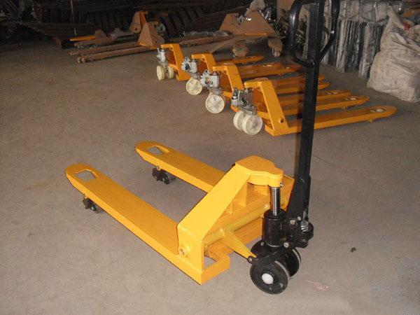 叉车手动液压搬运车升降托盘手推堆高地牛手动叉车1吨2吨3吨