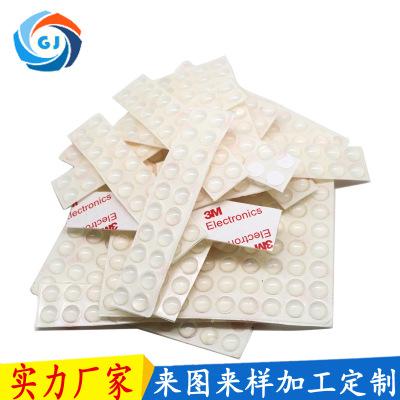 厂家定制圆形硅胶垫 食品级密封圈 密封硅胶垫片自粘防滑硅胶垫圈