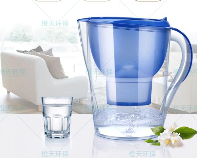 净水器厂家直销批发家用厨房过滤2.5-3.5L净水壶滤水壶滤芯活性炭