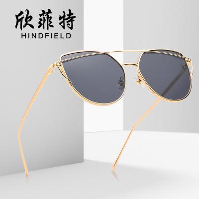2020新款太阳镜批发时尚金属太阳眼镜复古欧美男女士遮阳潮流墨镜