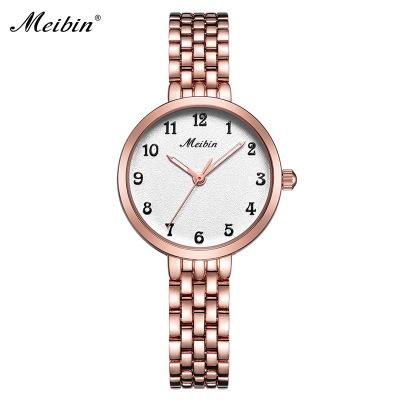 美宾/MEIBIN 精致气质时尚精品钢带女士百搭时装表 1051