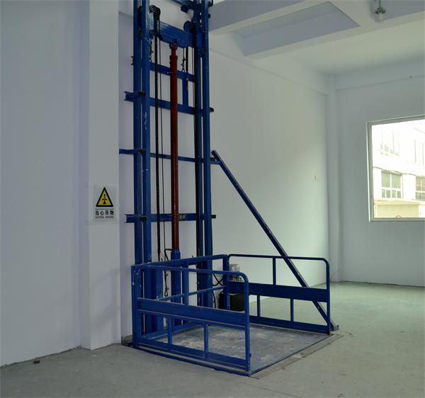 工业厂房车间货梯 仓库工厂提升机 导轨式电动液压升降机 升降台