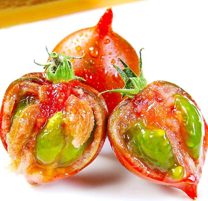 东北花皮球柿子4斤新鲜自然熟草莓西红柿水果铁皮小番茄蔬菜包邮