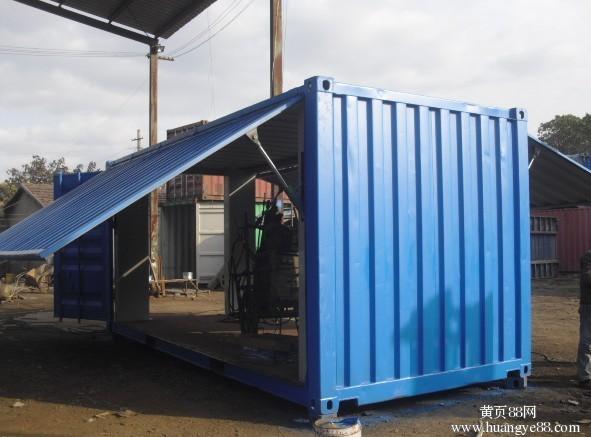 集装箱带箱证可存储可供海运铁运载货20尺和40尺标准货柜框架箱等