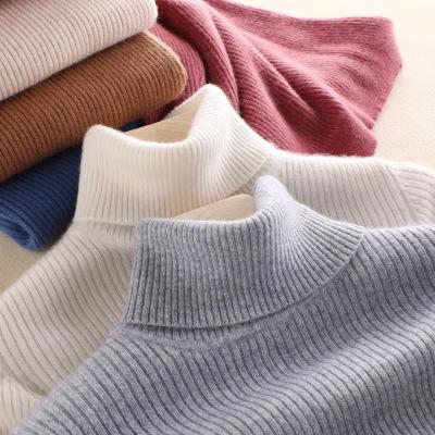 晚晚同款秋冬新品高领纯羊绒衫女紧身加厚毛衣套头长袖羊毛打底衫