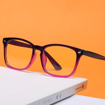 新款复古防蓝光眼镜男女士平光镜 通用米钉镜架 电脑护目镜批发