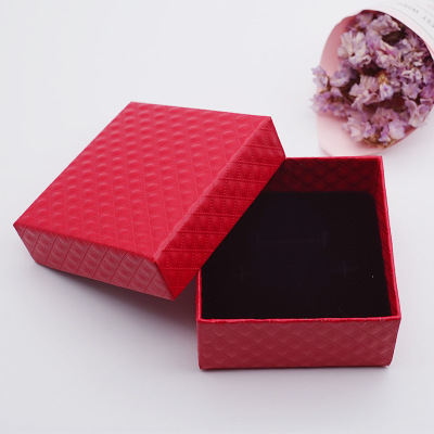 厂家直销礼品戒指耳钉项链手镯首饰包装盒送人小礼盒支持一件代发