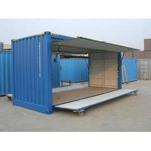 集装箱厂家生产 飞翼集装箱 展翼车厢 集装箱生产
